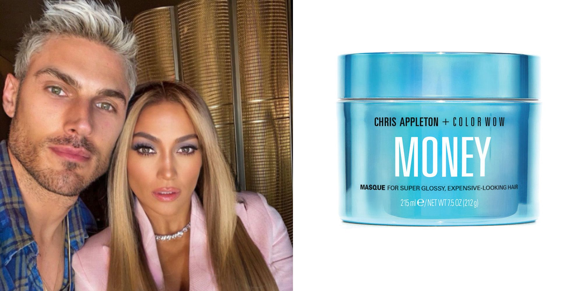 J.Lo's Hairstylist Chris Appleton Just Launched a Mask For Shiny, Glossy Hair