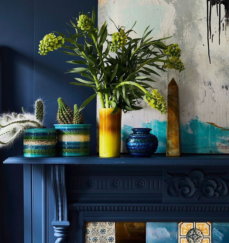 10 Ingenious Ways To Style Your Fireplace Mantel