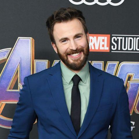 Chris Evans Avengers Endgame World Premiere