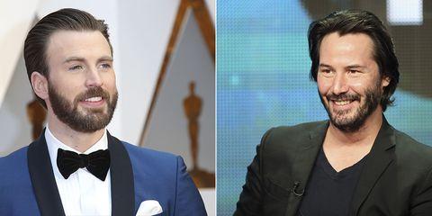 Chris Evans amor Keanu Reeves