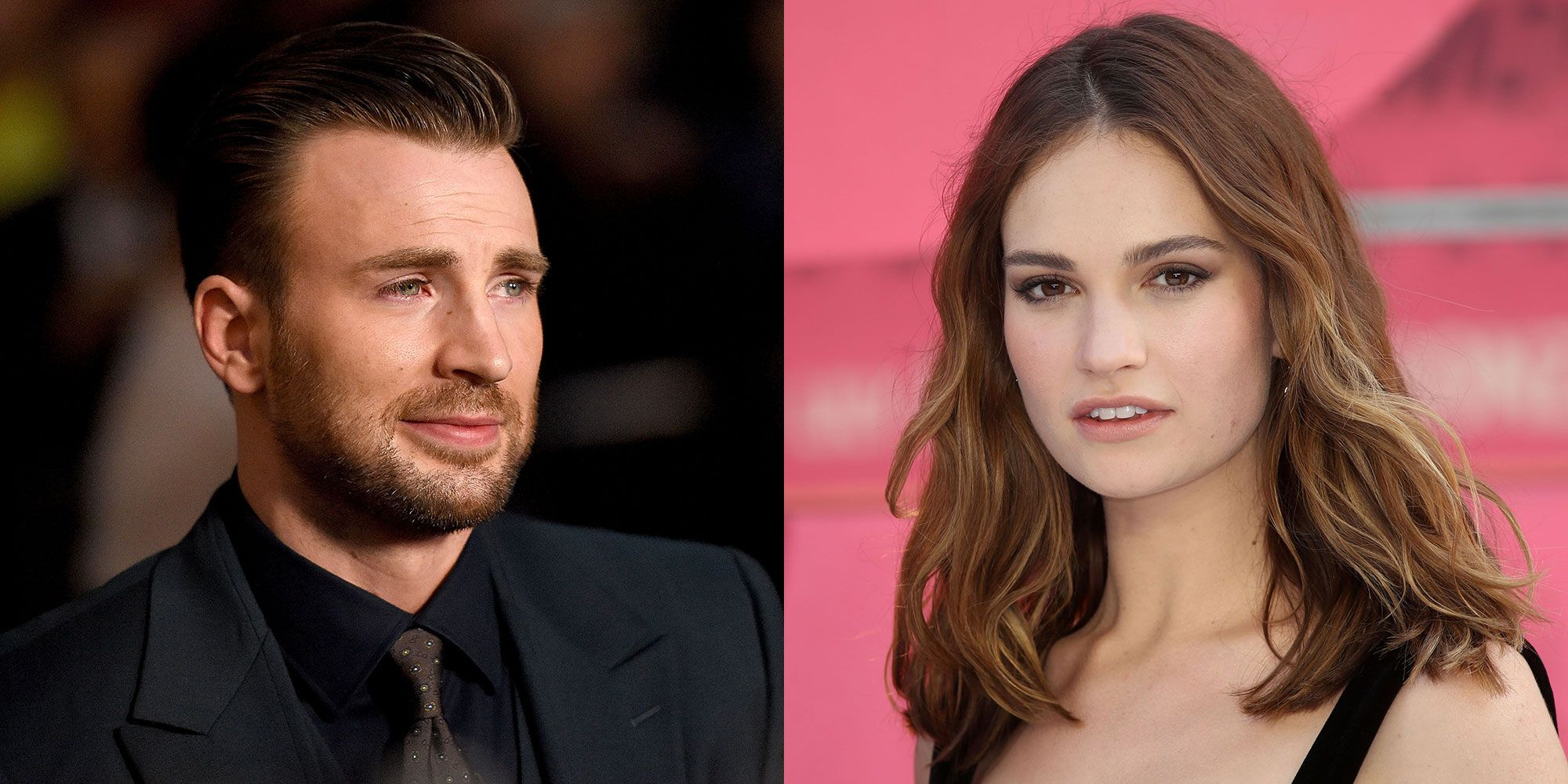 Chris Evans And Lily James Go On London Park Date Amid Dating Rumors Newsopener