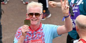 chris evans london marathon