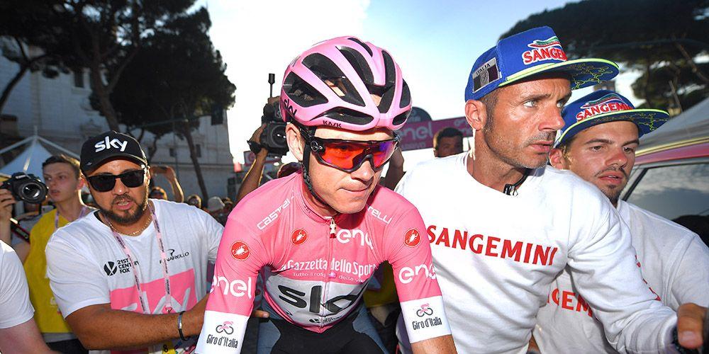 Chris Froome Giro d'Italia