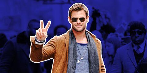 Chris Hemsworth thor 2018
