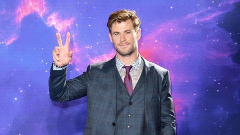 Chris Hemsworth, Avengers: End Game screening