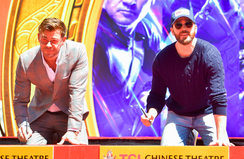 Avengers: Endgame fans think Chris Hemsworth and Chris Evans forgot how to spell their names