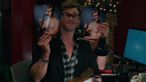 Chris Hemsworth Cazafantasmas