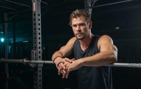 chris hemsworth, su entrenamiento hirt para ganar músculo y quemar grasa a la vez