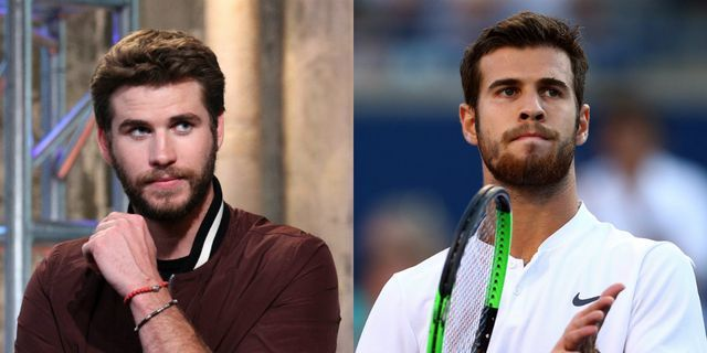 Tennis Player Karen Khachanov Looks Exactly Like Liam Hemsworth, and People Are Freaking Out