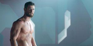 Chris Hemsworth musculos