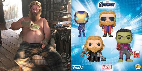 Chris Hemsworth Thor gordo fat