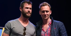Chris Hemsworth Tom Hiddelston