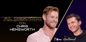 Chris Hemsworth, Tom Holland, Spiderman, Thor