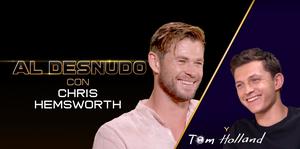 ChrisHemsworth, Tom Holland, Spiderman, Thor