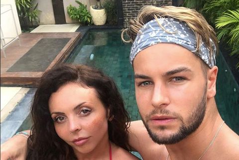 Little Mix's Jesy Nelson celebrates anniversary with Love Island boyfriend Chris Hughes