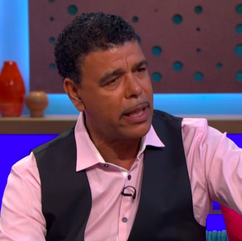 Did you notice this puzzling detail about Celebrity Gogglebox star Chris Kamara's clock?