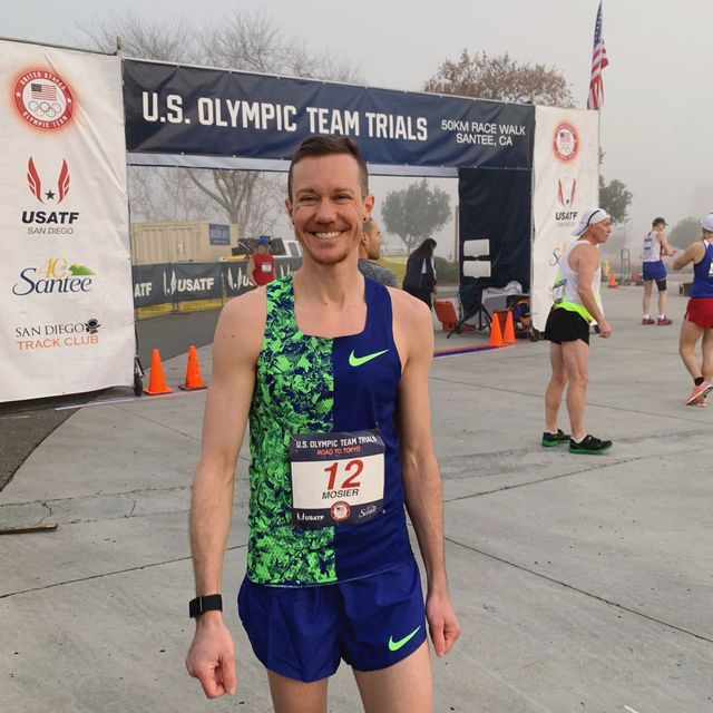 chris mosier at the us olympic team trials