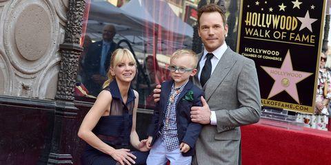 Chris Pratt family photo