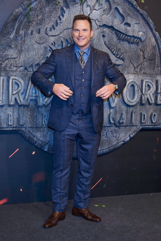 Chris Pratt presenta 'Jurassic World: El Reino Caído' en Madrid
