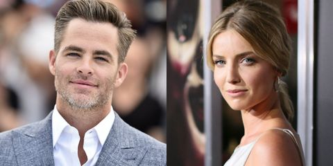 chris pine girlfriend chris pine and annabelle wallis are