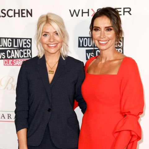Holly Willoughby and Christine Lampard light up the red carpet at charity event