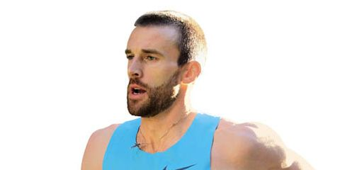 Chris Solinsky at NYRR Dash to the Finish Line