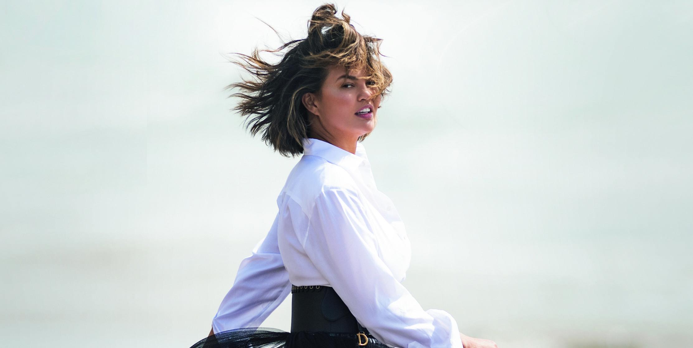 Chrissy Teigen is ELLE UK's January cover star