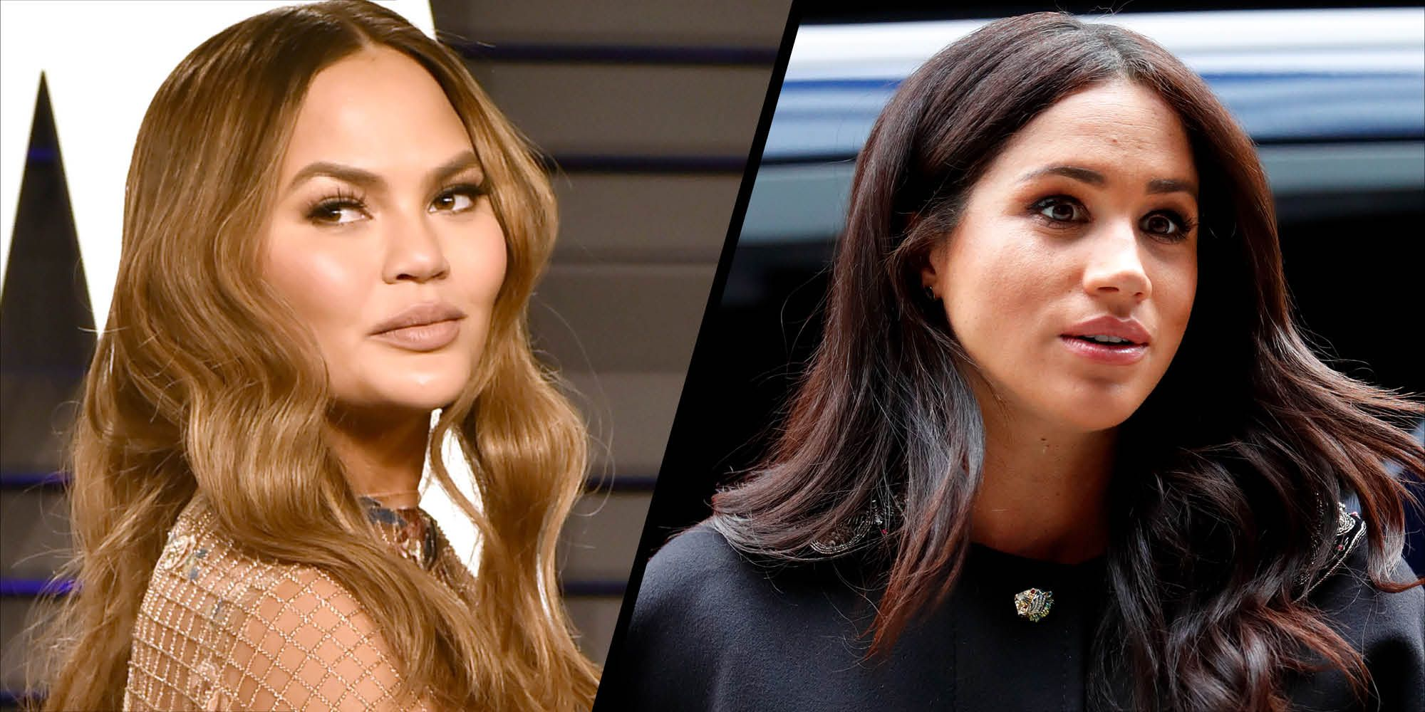 Chrissy Teigen defends Duchess of Sussex over sharing her miscarriage news