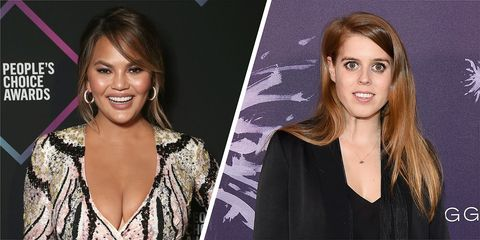 Chrissy Teigen said she'd like a goddaughter called Bea, so Princess Beatrice got in touch
