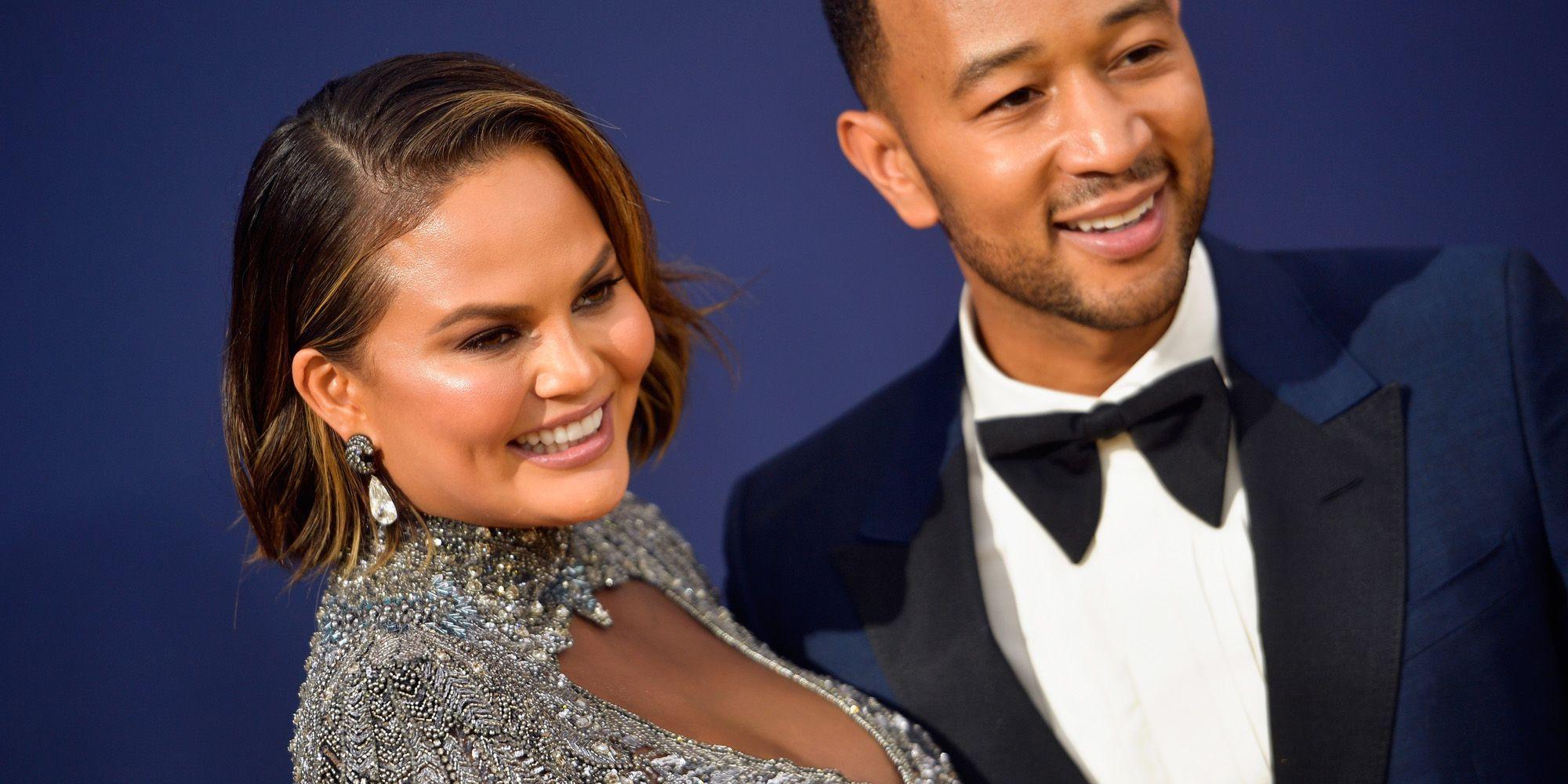 70th Emmy Awards  Chrissy Teigen twitter reactie zwanger