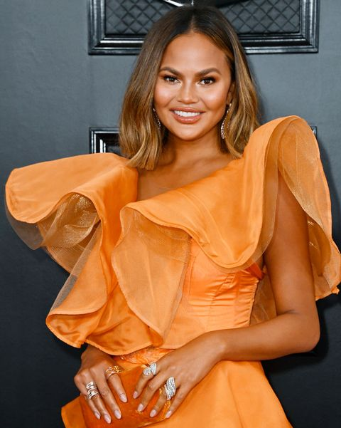 los angeles, california   january 26 chrissy teigen attends the 62nd annual grammy awards at staples center on january 26, 2020 in los angeles, california photo by frazer harrisongetty images for the recording academy