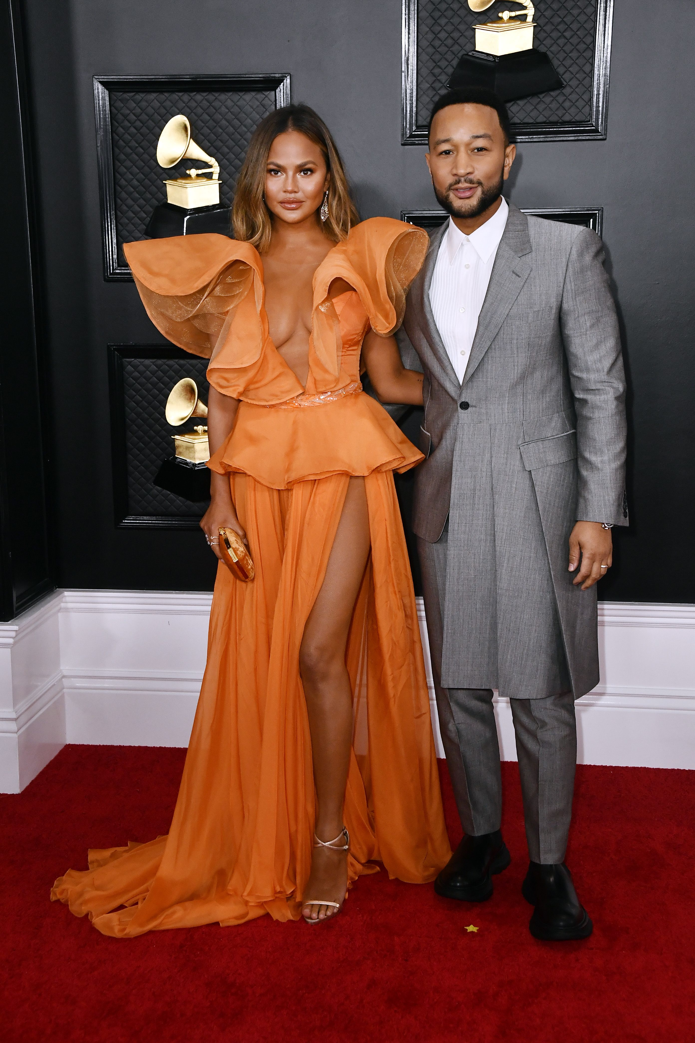 Chrissy Teigen And John Legend Win Best Dressed At The Grammys