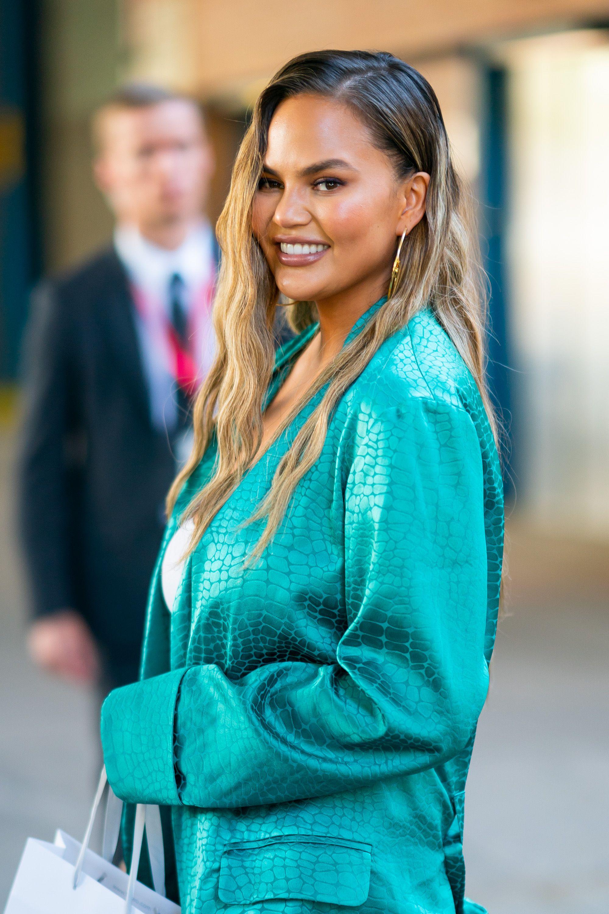 Chrissy Teigen Was Just Mom-Shamed Over Painting Luna's Nails—And She Had The Best Response