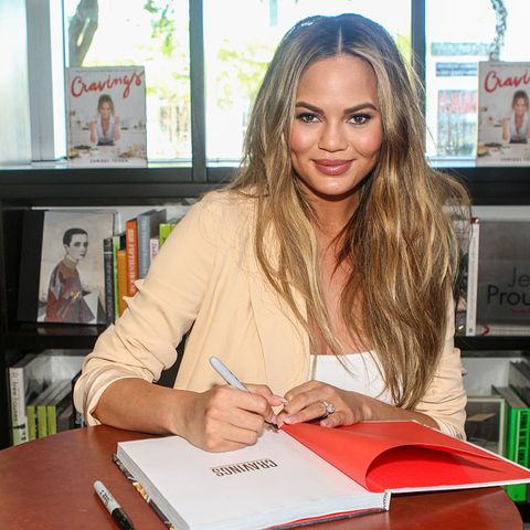 Chrissy Teigen Book Signing At Books & Books