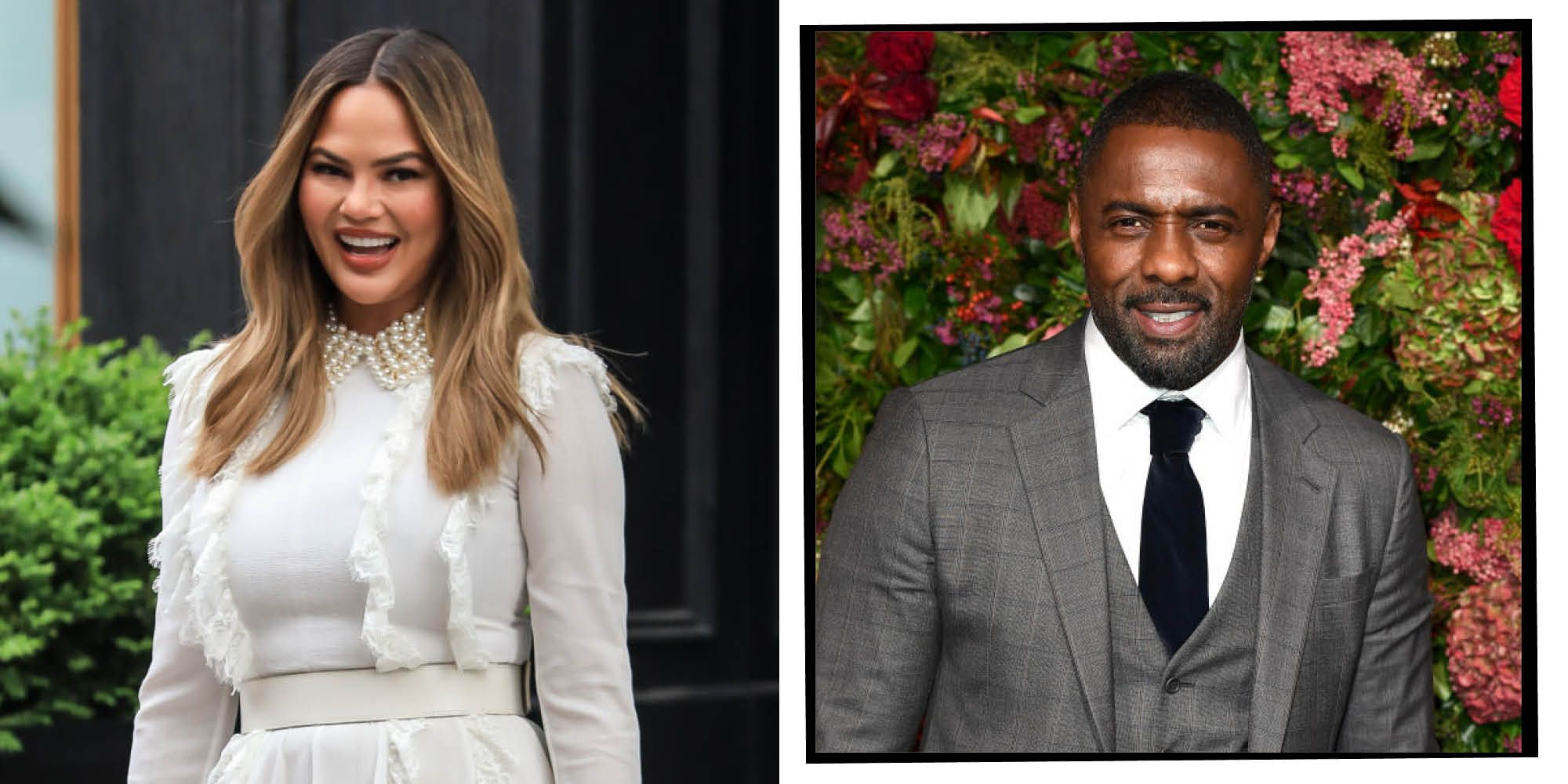Chrissy Teigen Concedes That Idris Elba Probably Was Sexier In 1995 Than Husband John Legend