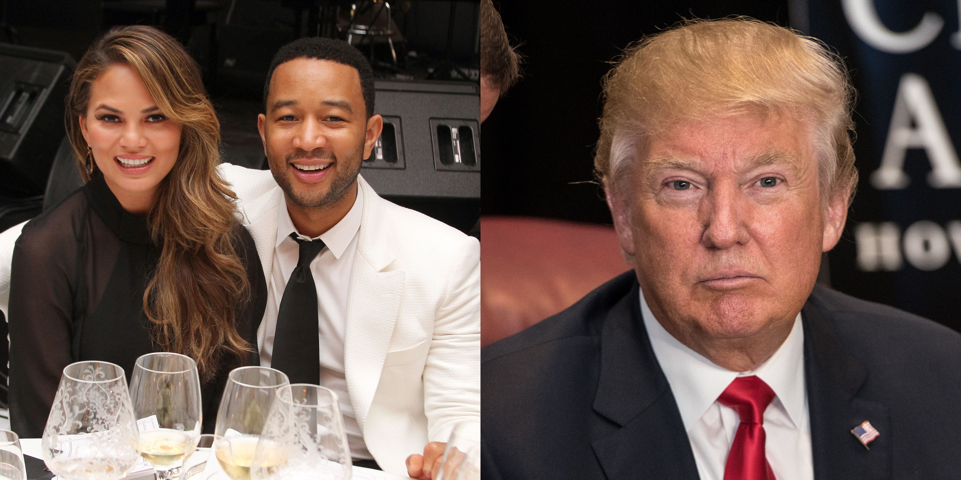 Chrissy Teigen And John Legend Donate To Aclu For Donald Trumps