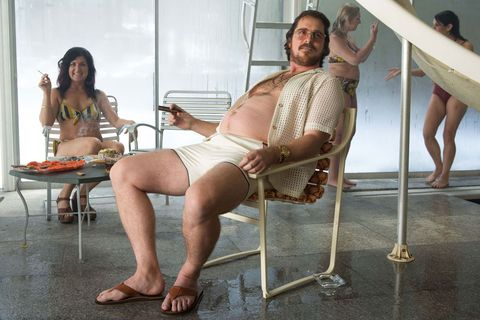 Christian Bale's best body transformations