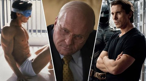 Christian Bale, sus transformaciones de American Psycho, Vice o Batman