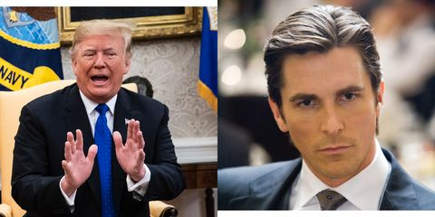 Christian Bale Says Trump Thought He Was Really Bruce Wayne When They Met