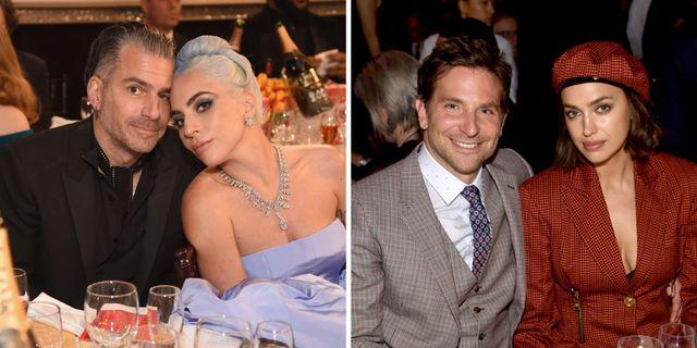Er, So Lady Gaga's Ex Christian Carino Just Liked Irina Shayk's Breakup Instagram