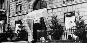 Christian Dior Fashion House In Paris