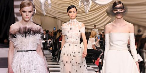 Abiti da sposa 2018  i modelli più belli visti alle sfilate Haute ... a988ab4f445