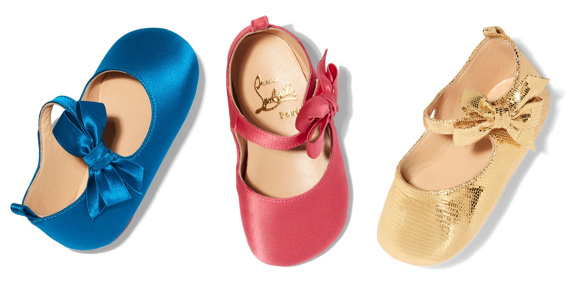 Louboutin baby shoes, Goop