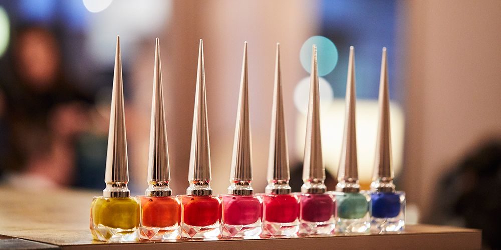 Christian Louboutin manicures at DryBy