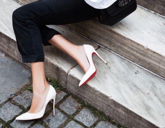 red sole heels