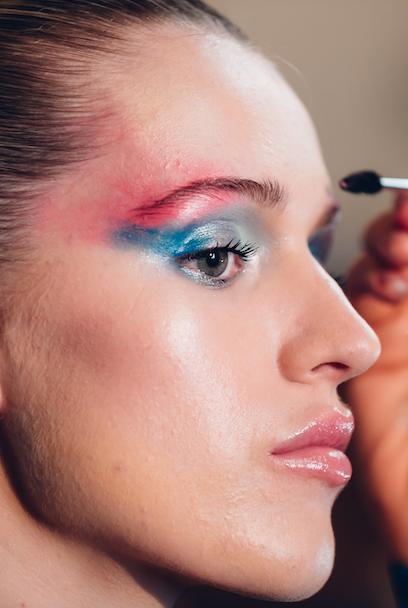 Face, Hair, Eyebrow, Nose, Eyelash, Makeup artist, Beauty, Cheek, Lip, Skin,