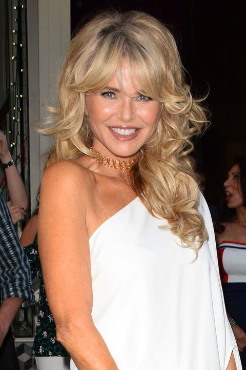 Christie Brinkley Hair Celebrity Sightings In New York City - May 29, ...
