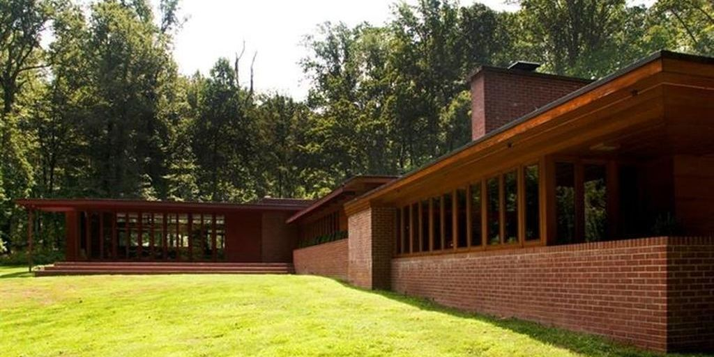 Frank Lloyd Wright S Christie House In New Jersey Is On