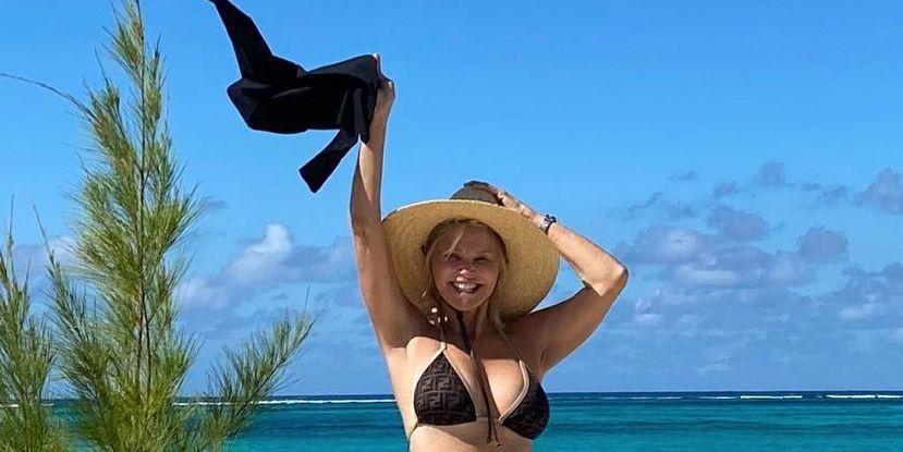 Christiebrinkley 140423944 335446204290191 7286976590237684205 n 1611327971 Christie Brinkley 66 Shows Off Her Impressive Abs In A New Bikini Instagram Photo 8211 Women 8217 s Health
