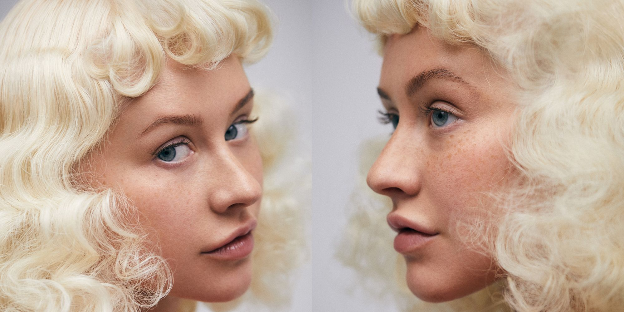 Christina Aguilera Did a Makeup-Free Photo Shoot, and She Looks Stunning